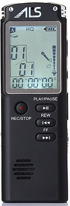 ALS 2015 Portable Rechargeable Mini Digital Audio Recorder