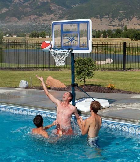 Lifetime Pool-Side height-adjustable Mini Basketball