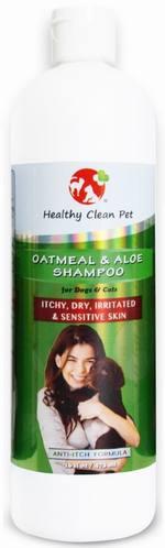 Natural Oatmeal and Aloe Vera Dog Shampoo