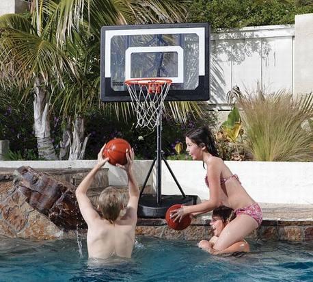 Pro mini basketball hoop system by SKLZ