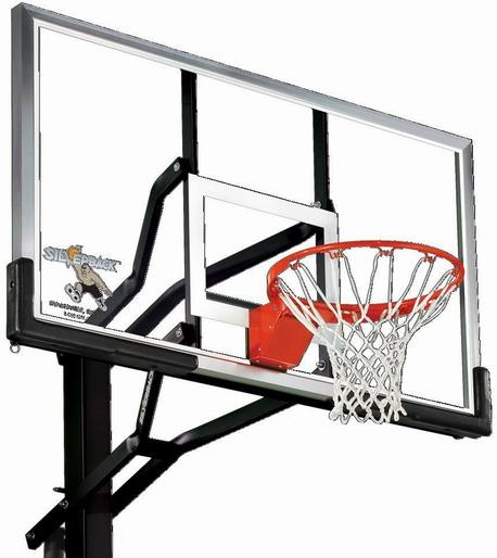 Silverback 60-inch In-Ground Mini Basketball System