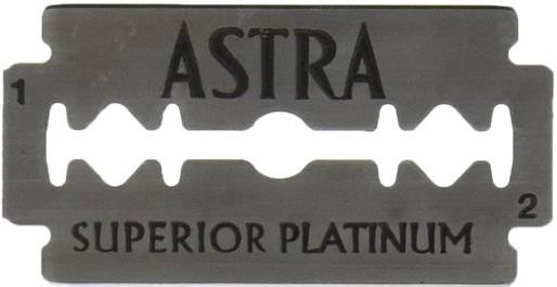 Astra Premium Platinum Double-Edge Safety Razor Blades