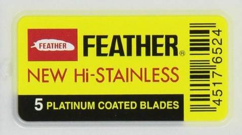 Feather Double-Edge Hi-Stainless Razor Blades