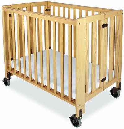 Foundations Hideaway Compact Folding Crib