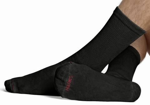 Hanes Men's 10-Pack Ultimate Crew Socks