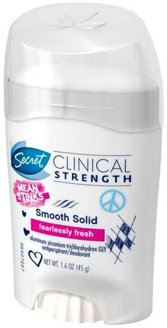 Secret Clinical Strength Smooth Solid Antiperspirant & Deodorant