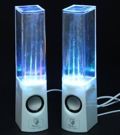 Skque Illuminated Dancing Water Speaker