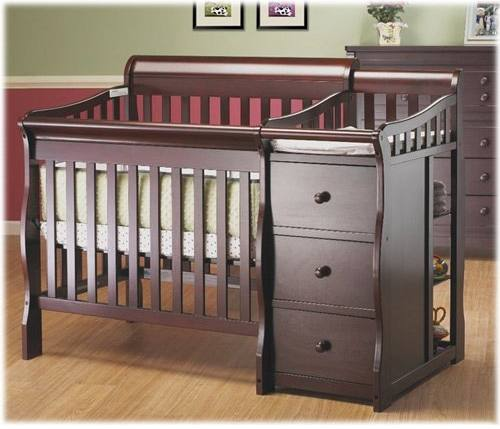 Sorelle Newport Mini Crib