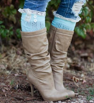 The Original Button Boot Socks