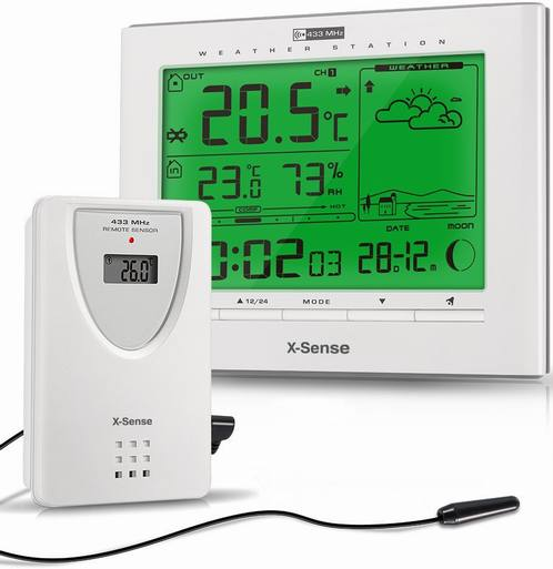 X-Sense AVANTEK AG-21 Wireless Indoor-Outdoor Weather Station
