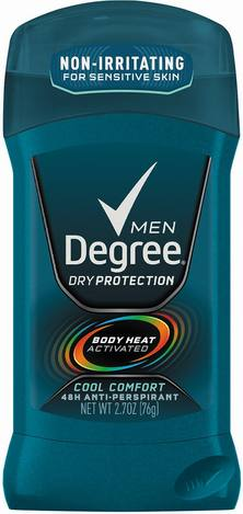 Degree Dry-Cool Comfort Antiperspirant Deodorant
