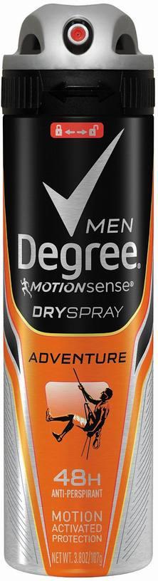 Dry-Adventure Antiperspirant Deodorant Spray from Degree