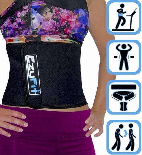 Ezy-fit Adjustable Waist Trimmer Belt