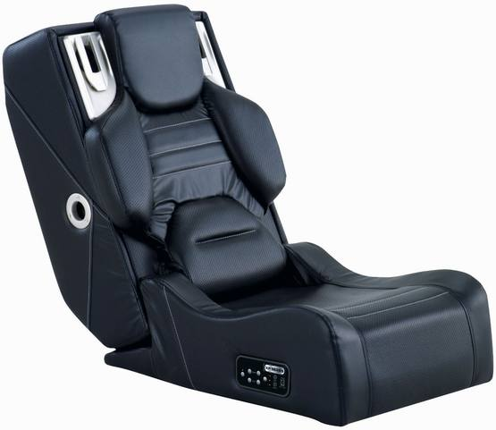 Audio Gaming Chair Ottoman with Wireless Audio