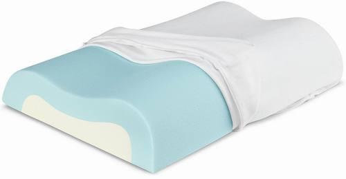 Cool-Contour Memory Foam Pillow
