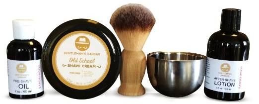 Gentleman's Hangar Shaving Kit