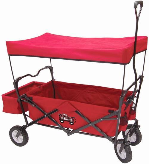 Red Folding Utility Wagon