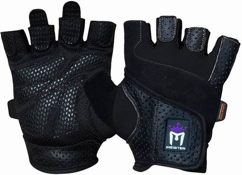 Meister Women's Fit-Grip Weight Lifting Gloves