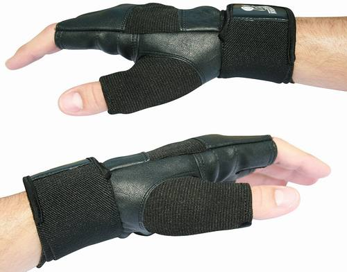 Nordic Living Weight-Lifting Gloves, With Wrist Support