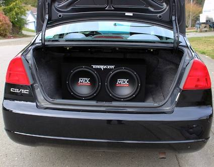 best cheap car subwoofer
